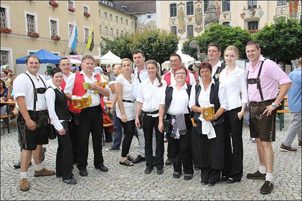Stadtfest Restaurant Huenns